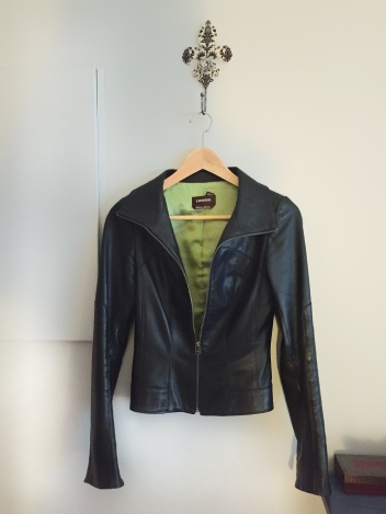 Christine Fichtner leather jacket