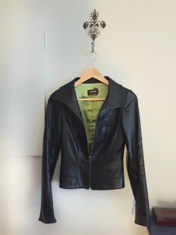 Christine Fichtner leather jacket